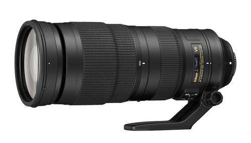 Nikon AF-S NIKKOR 200-500 mm F/5.6E ED VR For Nikon F Mount Telephoto Zoom Lens