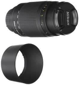 Nikon AF ZOOM-NIKKOR 70-300 mm F/4-5.6G (4.3X) For Nikon F Mount Telephoto Zoom Lens