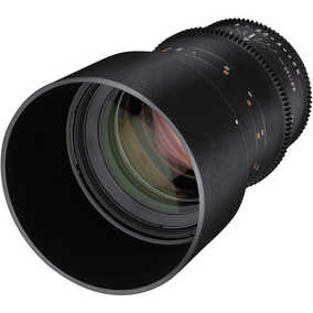 Rokinon DS135M-C (135 mm T/2.2) For Canon Mount Mount Telephoto Cine Ds Full Frame Lens