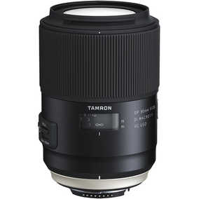 Tamron F017 (SP 90 mm F/2.8 Di 1:1 VC USD) For Canon EF Mount Macro Lens