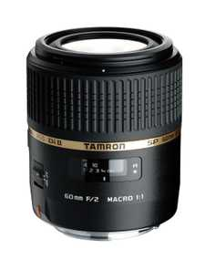 Tamron G005 (SP AF60 mm F/2 Di II LD [IF] 1:1) For Canon EF Mount Macro Lens