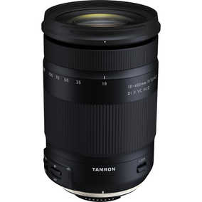 Tamron B028 (18-400 mm F/3.5-6.3 Di II VC HLD) For Canon EF Mount Telephoto Lens