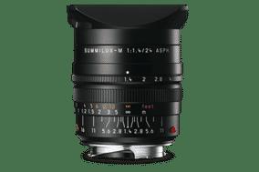 Leica 11601 (SUMMILUX-M 24 mm F/1.4 ASPH) & Leica M Mount Standard Aspherical Black Lens