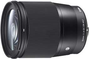 Sigma 16 mm F/1.4 DC DN For Micro Four Third Mount Standard Contemprary Lens