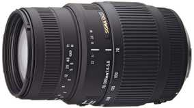 Sigma 70-300 mm F/4-5.6 DG For Canon EF Mount Telephoto Zoom Lens