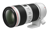 Canon EF 70-200 mm f/4L IS II USM For Canon EF Mount Telephoto Lens