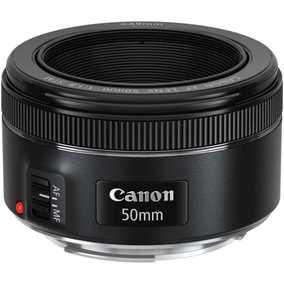 Canon EF 50 mm F/1.8 STM For Canon EF Mount Standard Lens