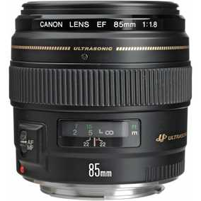Canon EF 85 mm F/1.8 USM For Canon EF Mount Standard Zoom Lens