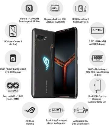 Asus ROG Phone 2 (12GB, 512GB)