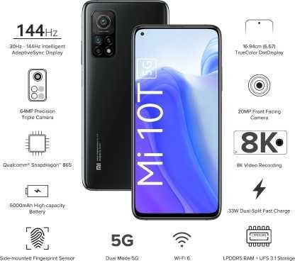 Xiaomi Mi 10T 5G (6GB, 128GB)