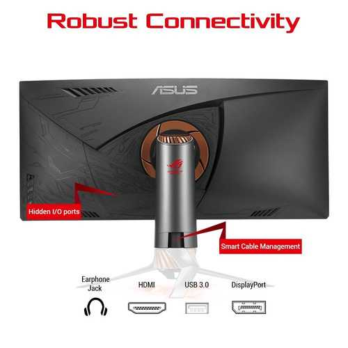 Asus ROG SWIFT PG348Q 34 inch (86 cm) Ultra-Wide QHD Curved IPS-LCD Gaming Monitor
