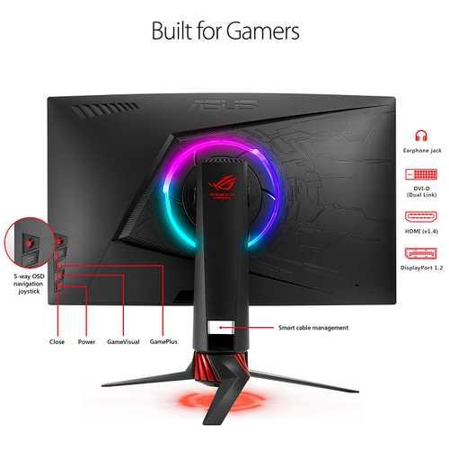 Asus ROG STRIX XG27VQ 27 inch (68 cm) Full HD Curved LED Gaming Monitor