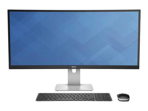 Dell U3415W 34 inch (86 cm) Ultra-Wide QHD Curved LED Monitor