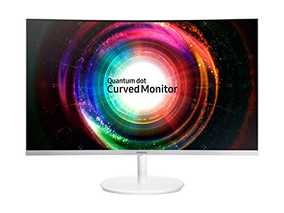 Samsung LC27H711QEWXXL 27 inch (68 cm) Quad HD Curved Touchscreen LED Monitor