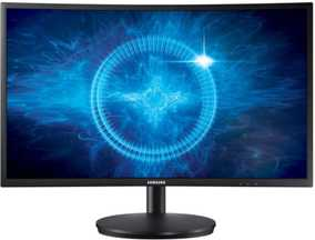Samsung LC24FG70FQWXXL 24 inch (60 cm) Full HD Curved LED Monitor