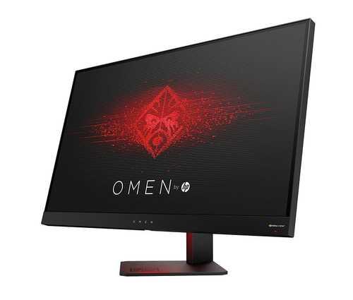 HP Omen (Z4D33AA) 27 inch (68 cm) QHD LCD Gaming Monitor