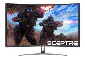 Sceptre C248B-144R 24 inch (60 cm) Full HD Curved LED Gaming Monitor