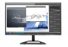 Sceptre E225W-1920RR 21.5 inch (54 cm) Full HD LED Monitor