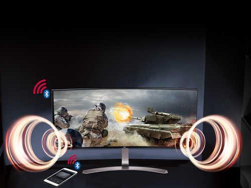 LG 38UC99 38 inch (96 cm) WQHD Plus Curved IPS-LCD Monitor