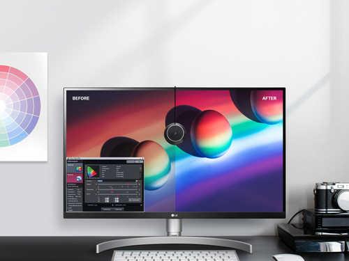 LG 27UK850 27 inch (68 cm) Ultra HD 4K IPS-LCD Monitor
