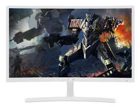 Acer ED2 Series ED242QR (UM.UE2AA.A01) 23.6 inch (60 cm) Full HD VA Panel WideScreen Curved LCD Monitor