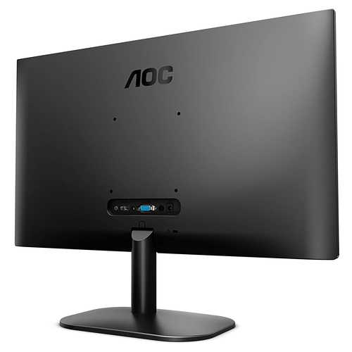 AOC Office Series 24B2XH 23.8 inch (60 cm) Full HD IPS Panel Low Blue Light Borderless Professional Monitor