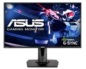 Asus VG278QR 27 inch (69 cm) Full HD TN Panel Flicker Free WideScreen Gaming LCD Monitor