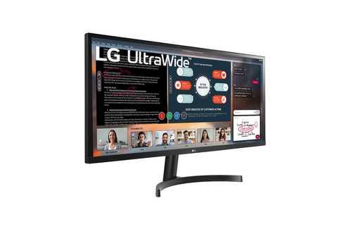 LG 34WL500-B 34 inch (86 cm) Full HD IPS Panel UltraWide Gaming LED Monitor