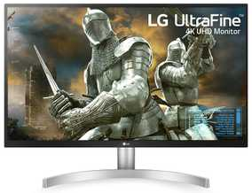 LG 27UL500-W 27 inch (69 cm) UHD 4K IPS Panel HDR 10 Gaming & Design Monitor