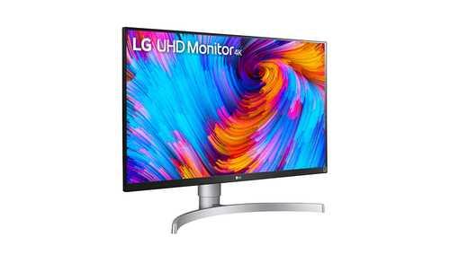 LG 27UL650-W 27 inch (69 cm) 4K UHD IPS Panel Fllicker Free LED Monitor