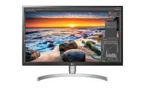 LG 27UL850-W 27 inch (69 cm) UHD 4K IPS Panel HDR 10 3 Side Borderless Monitor