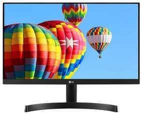 LG 22MK600M-B 21.5 inch (55 cm) Full HD IPS Panel 3 Side Borderless LED Monitor