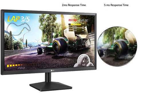 LG 27MK400H-B 27 inch (69 cm) Full HD TN Panel Gaming Monitor