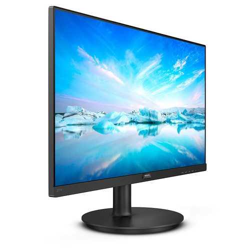 Philips 221V8/94 21.5 inch (55 cm) Full HD VA LCD Panel Wide View 3 Side Bezel Less W-LED Monitor