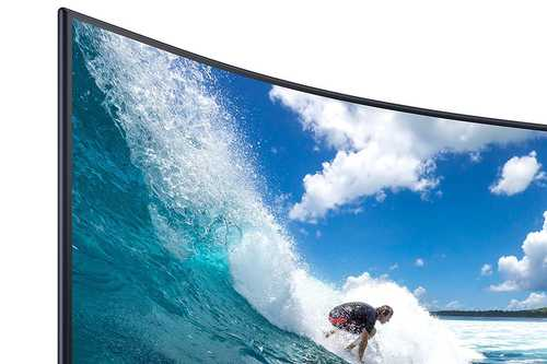 Samsung CT550 Series LC27T550FDWXXL 27 inch (69 cm) Full HD VA Panel Flicker Free Bezel Less Curved Gaming LED Monitor
