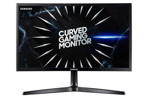 Samsung CRG50 Series LC24RG50FQWXXL 24 inch (61 cm) Full HD VA Panel Flicker Free Curved Gaming LED Monitor