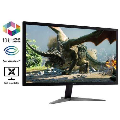 Acer KG241K 28 inch (71 cm) 4K UHD Panel Gaming LED Monitor