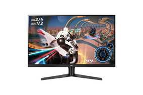 LG UltraGear 32GK650F-B 32 inch (81.28 cm) QHD VA Panel 3 Side Borderless Gaming Monitor