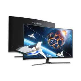 ViewSonic VX Series VX3258-2KPC-MHD 31.5 inch (80.01 cm) WQHD VA Panel 3 Side Borderless Curved Gaming Monitor