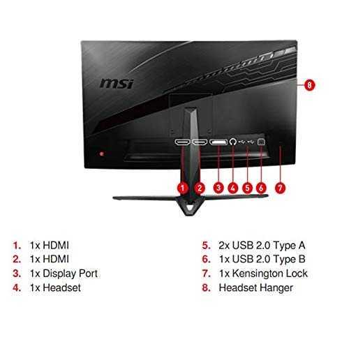 MSI G Series Optix MAG271CR 27 inch (68.58 cm) Full HD VA Panel 3 Side Borderless Curved Gaming Monitor