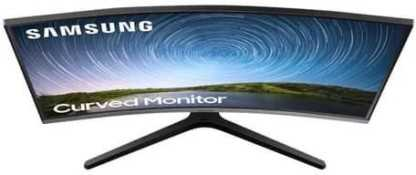 Samsung CR500 Series LC27R500FHWXXL 27 inch (68.58 cm) Full HD VA Panel 3 Side Borderless Curved Gaming Monitor