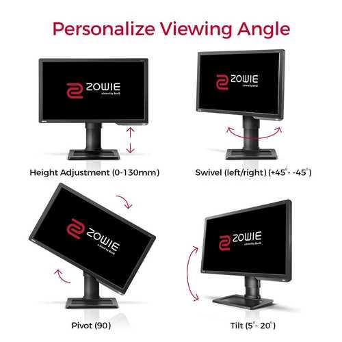 BenQ Zowie XL2411P 24 inch (60.96 cm) Full HD TN Panel LCD Gaming Monitor