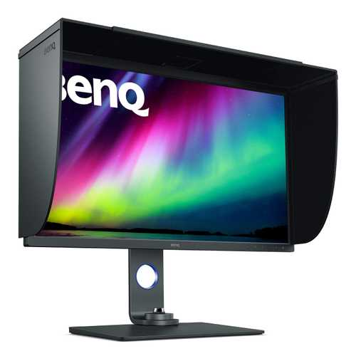 BenQ SW Series SW321C 32 inch (81.28 cm) UHD 4K IPS Panel Photo and Video Editing Monitor