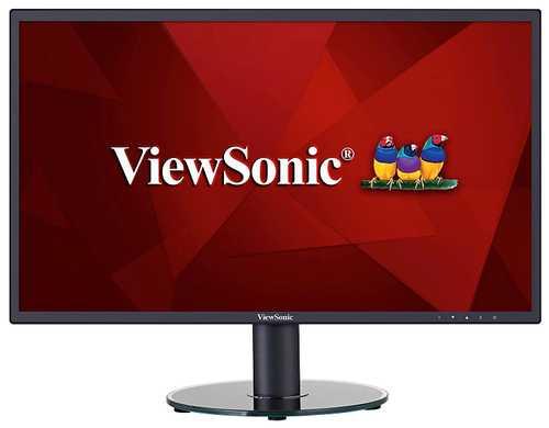 ViewSonic VA Series VA2419SH 23.8 inch (60.45 cm) Full HD IPS Panel Slim Monitor