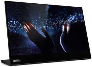 Lenovo ThinkVision M14t (62A3UAR1WW) 14 inch (35.56 cm) Full HD IPS Panel WLED-Backlight TouchScreen Portable Monitor