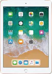 Apple iPad (6th Gen) (2018) (9.7 inch (24 cm), 128 GB) Wi-Fi + Cellular Tablet