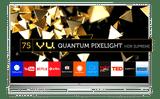 Vu Pixelight H75K800 75 inch (190 cm) Ultra HD 4K Smart Gaming QLED TV