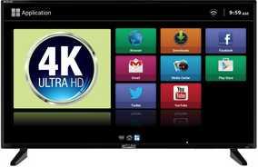 Mitashi MiDE040v03 FS 40 inch (101 cm) Ultra HD 4K Smart LED TV