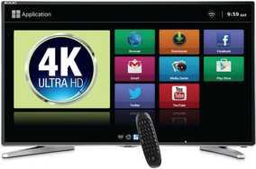Mitashi MiDE055v22 FS 54.6 inch (138 cm) Ultra HD 4K Smart LED TV