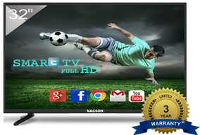 Nacson NS8016 32 inch (81 cm) HD Ready HDR Smart Gaming LED TV
